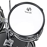 Novah-5-Piece-Junior-Drum-Set-Complete-with-Cymbals-Throne-and-Stool-Black-Blue