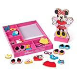 Melissa & Doug Disney Minnie Mouse Magnetic Dress-Up Wooden Doll Pretend Play Set (35+ pcs, Great Gift for...