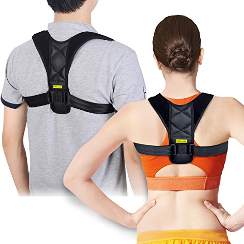 Posture Corrector Support Brace for Women & Men by Babo Care, Figure 8 Shaped Designed for Your Upper Back, Helps to Improve Posture, Prevent Slouching by Babo Care