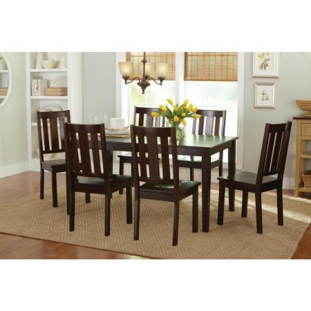 Better Homes and Gardens Bankston Dining Chairs, Set of 2, Mocha by Better Homes & Gardens (Image #4)