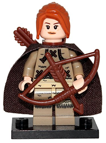 Ygritte - Game of Thrones Minifigure (Compatible with LEGO) by MinifigRise