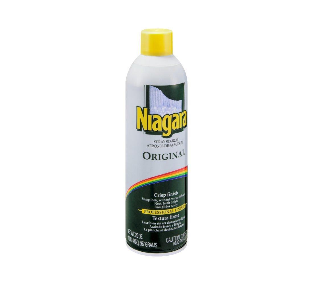 Niagara Spray Starch Plus Original 20 Once (Pack of 12)