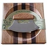 Ulu Factory Ulu Bowl set Birch Handle AK Cutlery