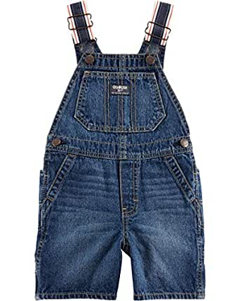 OshKosh B'Gosh Baby-Boys World's Best Overalls Overalls - Blue - 9 Months