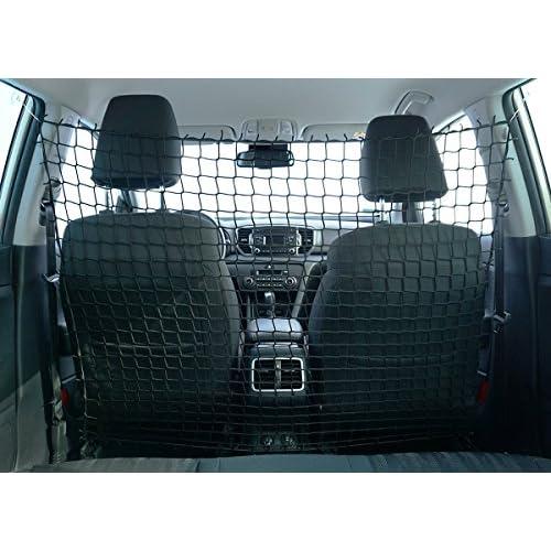 Universel Organisateur Filet élastique voiture filet de sécurité pour animaux barrière d'isolation 110 x 135 cm [058]