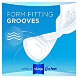 Always Infinity Feminine Pads for Women, Size 2, 96 Count, Heavy Flow Absorbency, with Wings, Unscented
