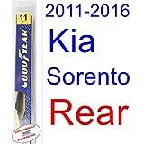 2011-2016 Kia Sorento Wiper Blade (Rear) (Goodyear Wiper Blades-Premium) (2012,2013,2014,2015)
