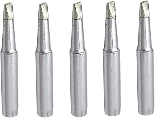 Iron Tsui 900M-T-3.2D Soldering Solder Iron Tips Replacing 3mm Chisel Width 5Pcs