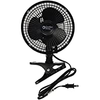 Comfort Zone CZ6C ClipOn Fan, 6, Black