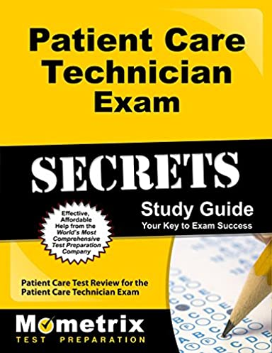patient care technician exam secrets study guide patient care test rh amazon com Phlebotomy Tubes Colors and Uses Phlebotomy Study Chart