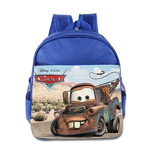 Cars 2 Tow Mater Kids School Backpack Bag