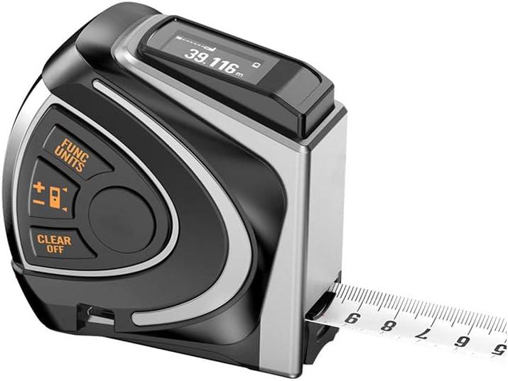 GU YONG TAO Cinta métrica Inteligente multifunción USB Recargable, estándar Impermeable IP54, Adecuado para: construcción, Contratista, Carpintero, Arquitecto, carpintería