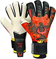 Renegade GK Limited Edition Rogue Soccer Goalie Gloves with Microbe-Guard (Sizes 6-11, Level 4+) Pro-Tek Finge