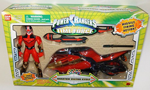 Power Rangers Time Force Quantum Vector Cycle