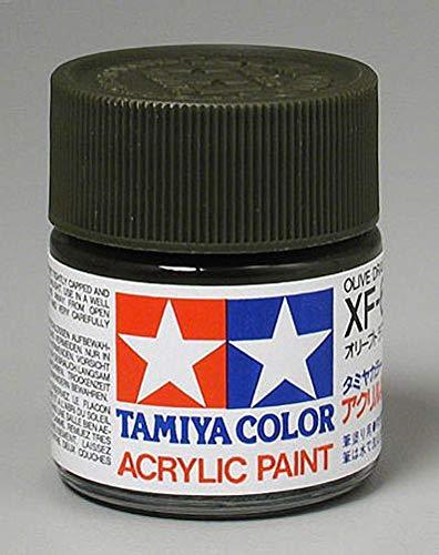 (Tamiya America, Inc Acrylic XF62, Flat Olive Drab, TAM81362)