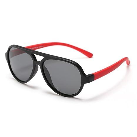 Lentes de seguridad Gran Oval Personalidad Niños Gafas de sol lentes polarizadas Protección UV Niños y