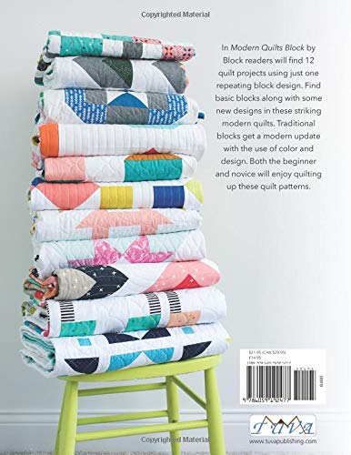 Modern Quilts Block by Block: Emily Dennis: 9786059192477