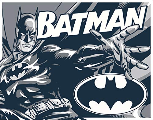 Desperate Enterprises Batman - Duotone Tin Sign, 16