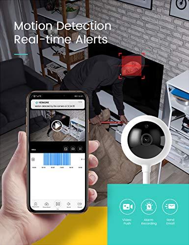 HeimVision HMA2 1080P WiFi Camera Indoor, Wireless IP Smart Security Camera for Pet Camera, Baby Monitor, Dog Camera…