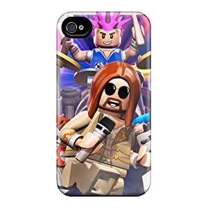 Protective Cell-phone Hard Covers For Iphone 4/4s With Provide Private Custom Nice Foo Fighters Pattern KellyLast