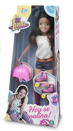 Soy Luna Disney Doll with Skates and Helmet
