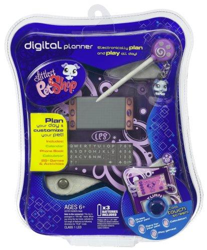 Hasbro Littlest Pet Shop Digital Electronic Interactive Planner Purple