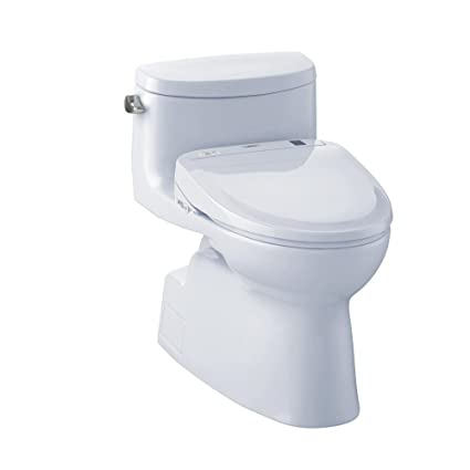 Remarkable Toto Mw644584Cefg01 Washlet Carolina Ii One Piece Elongated 1 28 Gpf Toilet And Washlet S350E Bidet Seat Cotton White Pabps2019 Chair Design Images Pabps2019Com