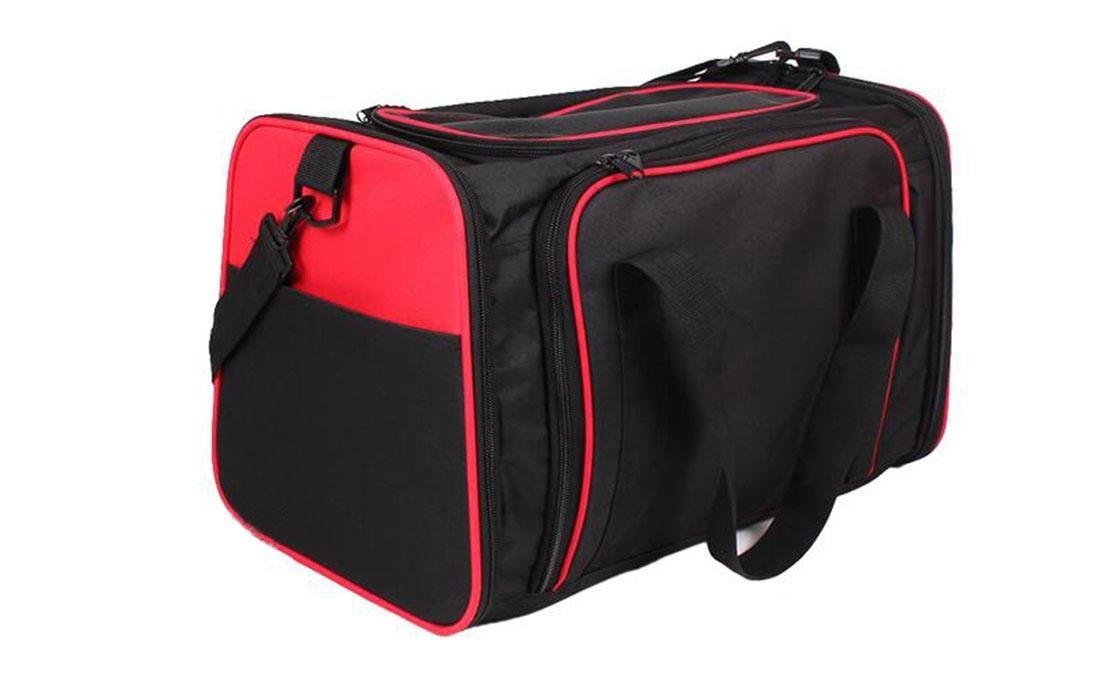 Red M Red M Foldable Dog Carrier Bag Pet Car Seat Carrier Portable For Pet Traveling , Red , M