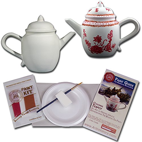 Art In History EDU101 Hands-On History Colonial Tea Pot Coin Bank