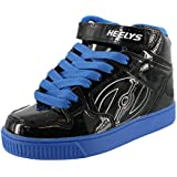 Heelys Boy's Fly (Little Kid/Big Kid/Men's) Black/Royal 13 Youth M