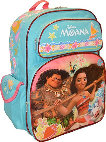 (Disney Princess Moana Girl's Deluxe 16