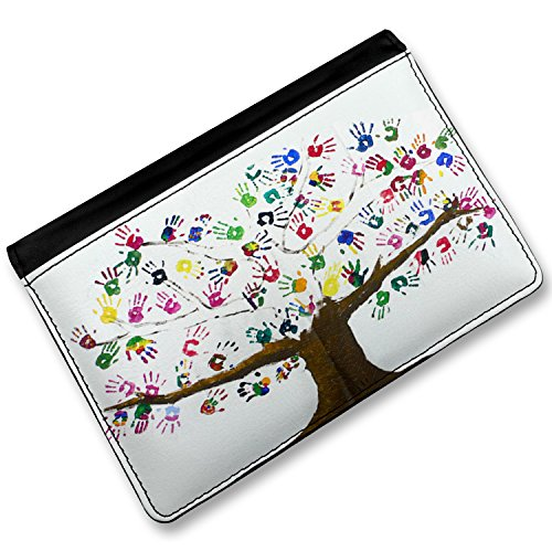 Price comparison product image RFID Passport Holder Tree of Life Art, Children, Family, Love, Cover Case / Wal