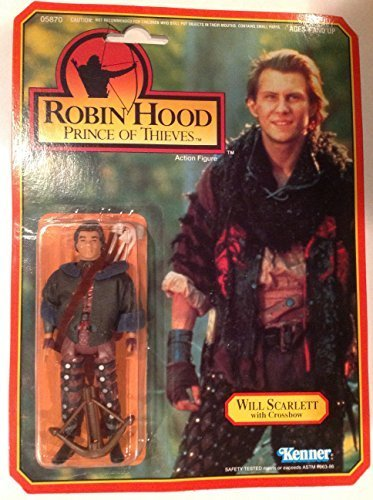 (Will Scarlett 1991 Robin Hood Prince of Thieves Action Figure)