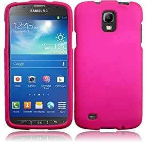 Generic Hard Cover Case for Samsung Galaxy S4 Active i537/i9295 - Retail Packaging - Hot Pink