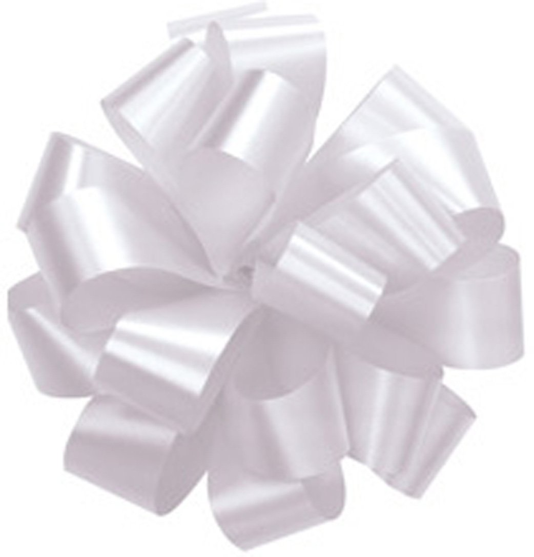 Amazon bows white gift pull bows christmas wrapping set amazon bows white gift pull bows christmas wrapping set of 10 5 satin health personal care negle Images
