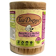 TeaDrops Bio Organic Orchid, Bromeliad & Air Plant Food [16 Pre-measured Packets Feed 1000s of Plants] = Makes Up To 32 Gallons Liquid Fertilizer + Humic Acids + Beneficial Microbes (EASY + NO SMELL) (16 TeaDrops®, Orchid / Bromeliad / Air Plant Formula)