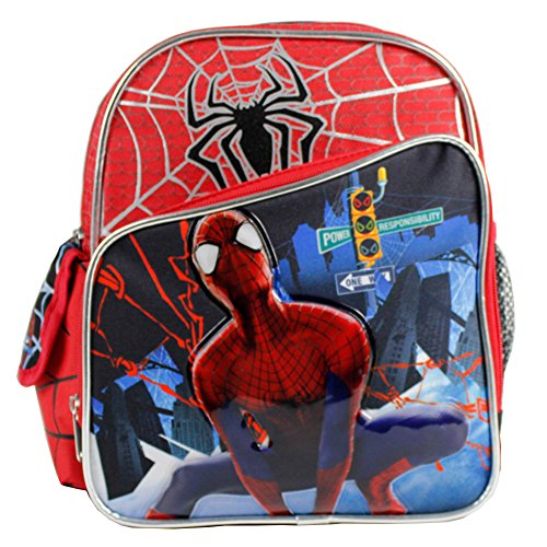 "The Amazing Spider-Man 2 Boys 10"" Mini School Backpack- Power Responsibility"