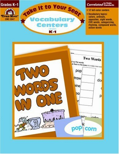 Vocabulary Centers, Grades K-1 by Evan-Moor Educational Publishers (June 01,2006)