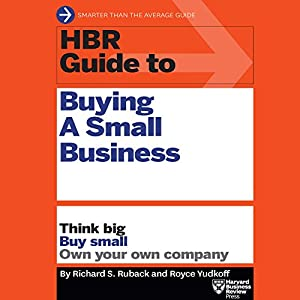 HBR Guide to Buying a Small Business Audiobook