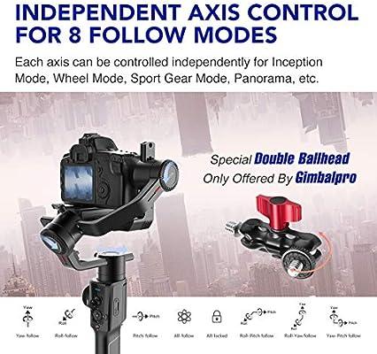 MOZA Air 2 2019 Estabilizador de cardán para cámara réflex Digital ...