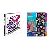 "Avery DreamWorks Trolls 1"" Binder, I Heart the Beat Design with Trolls Dividers, Assorted Designs, 5-Tab Set"