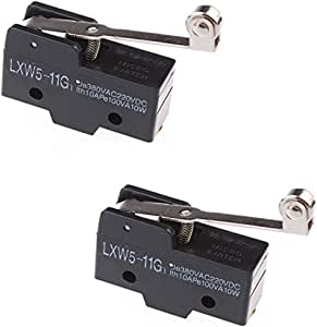 Micro Switch Roller Limit Model BZ-2RL711 with Door Plate 1AC2
