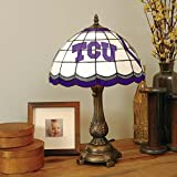 Texas Christian Tiffany Table Lamp