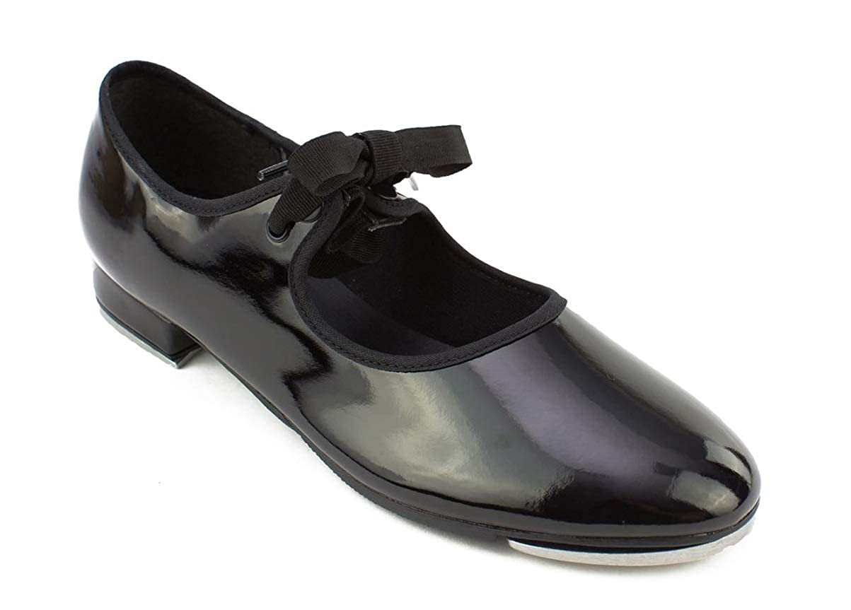 So Danca TA36 Snap On Tap Shoes Black