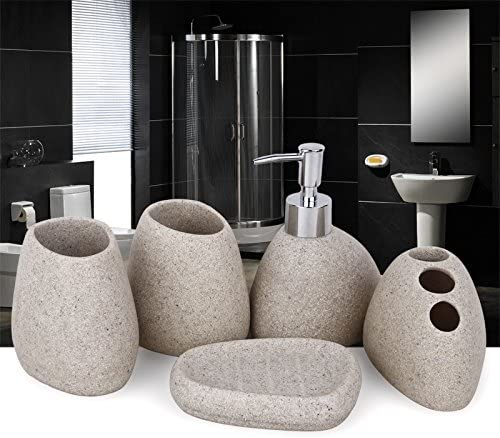 Accessori Per Bagno Colorati.Home Sets Like Ceramica Resina Accessori Bagno Set Toilet Requisites Infradito Colorati Estivi Con Finte Perline Amazon It Casa E Cucina