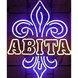 New Abita Fashion Handcraft Real Glass Neon Light Sign 19x15