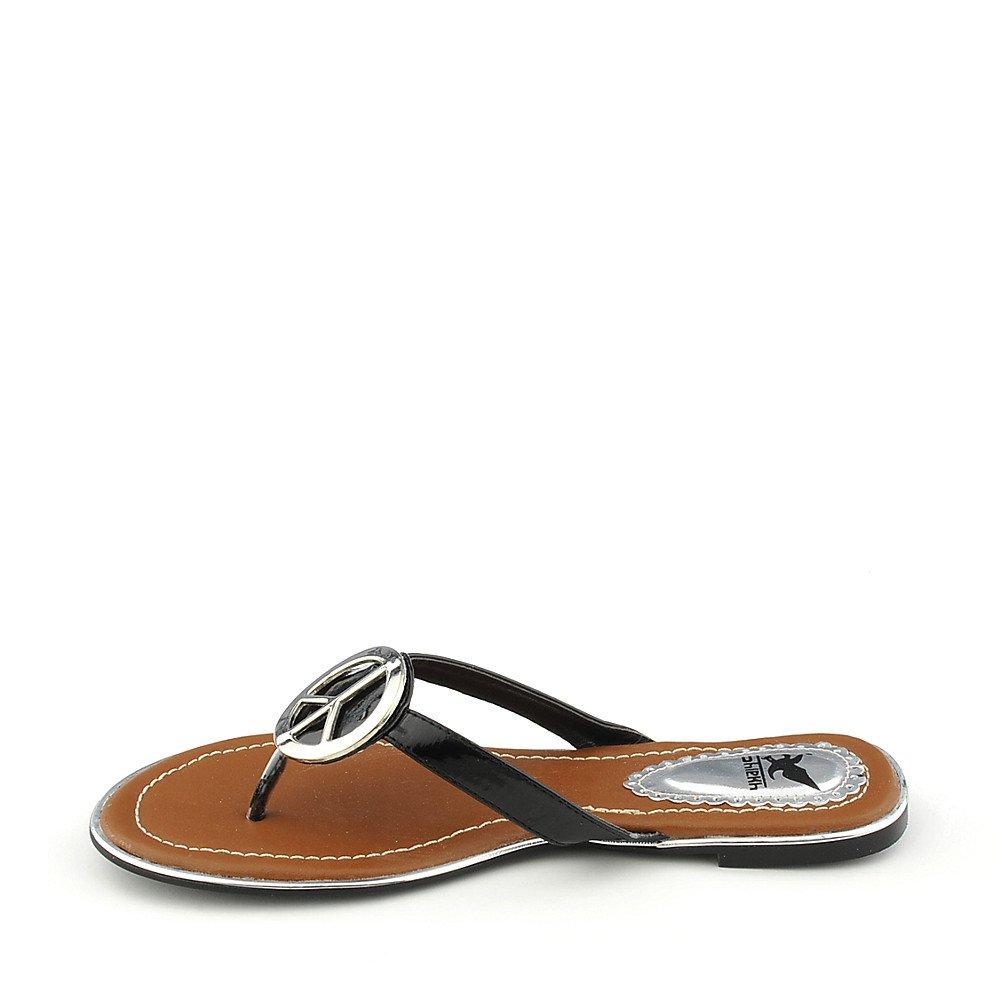 Womens Florinda-10 Thong Flip Flop Sandal Black