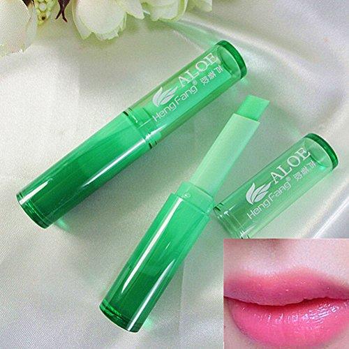 ure Magic Lipstick Temperature Change Color Aloe Lip Balm (Color Balm Lipstick)