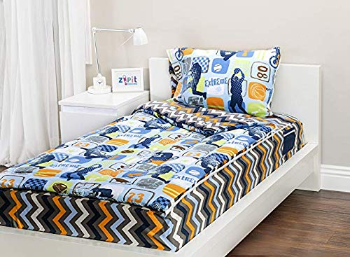 Zipit Bedding Set, Extreme Sports – Twin
