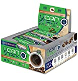 UCAN Snack Bar Box, Coffee Bean, With UCAN SuperStarch ®, Low Sugar, Gluten-Free, Plant Protein, No Trans Fats, Naturally Sweetened, 1.5 Ounces, 12 Count